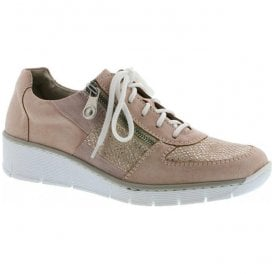 Eagle Rose Lace-Up Casual Shoes 53714-31