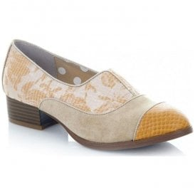 Womens Brooke Sand Slip-On Shoes 09191