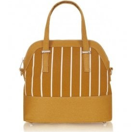 Womens Lima Ochre Structured Handbag 50124