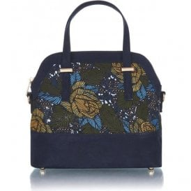 Womens Lima Jungle Structured Handbag 50124