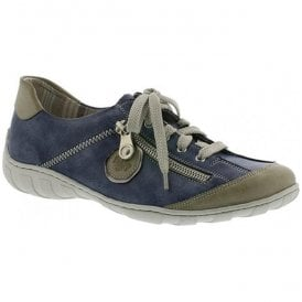Eagle Blue Lace-Up Trainers M3724-60