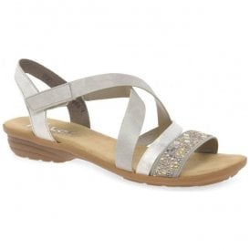 Dehlistret Grey Slip On Sandals V3463-42