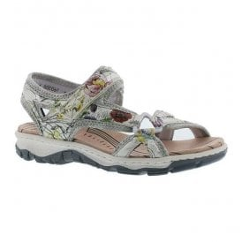 Chios Multicolour Strap Over Sandals 68879-90