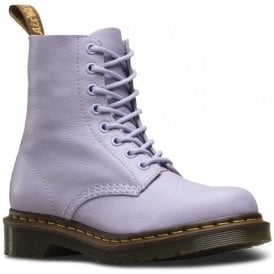 Womens 1460 Pascal Purple Heather Virginia 8-Eye Boots 23415513