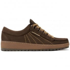 Mens Rainbow Sportbuck Dark Brown Lace-Up Shoes