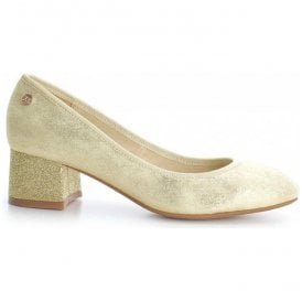Womens 30707 Oro (Gold) Slip-On Court Shoes