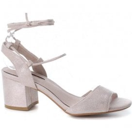 Womens 30705 Nude Slingback Sandals