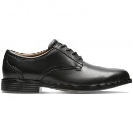 Mens Un Aldric Lace Black Leather Shoes 26132677