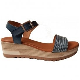 Womens Jeans Buckle-Up Sandals 49-8605