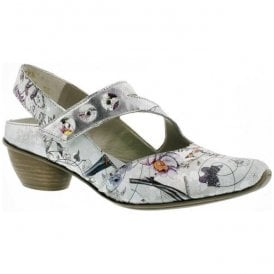 Womens Prestonbuk Multicolour Strap Over Shoes 43771-90