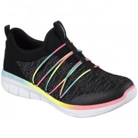 Womens Synergy 2.0 Simply Chic Black/Multi Trainers 12379 BKMT