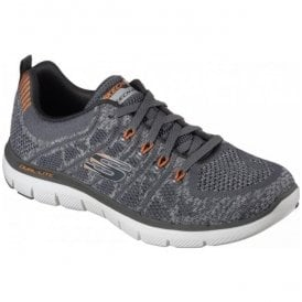 Mens Flex Avantage 2.0 - Talamo Charcoal Trainers 52121