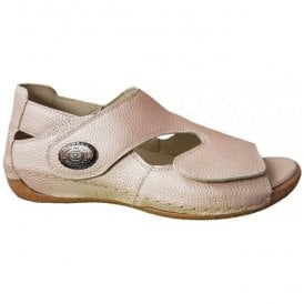 Womens Heliett Pigalle Apricot Strap Over Sandals 342021 172 089