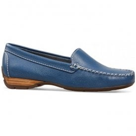 Womens Sanson Denim Casual Leather Loafer 2156460