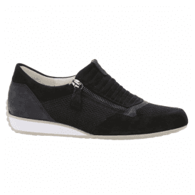 Womens Brunella Navy Casual Zip-Up Trainers 86.352.36