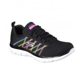 Womens Flex Appeal 2.0 - Act Cool Black/Multi Shoes 88888116