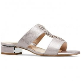 Womens Ione Bamboo Metallic Sling Back Sandals 2837940