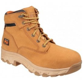 Mens Workstead Wheat Lace-up Safety Boots