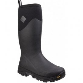 Mens Arctic Ice Black Tall Extreme Conditions Sport Boots