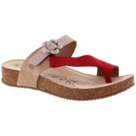 Womens Tonga 23 Natural-Multi Strap Over Sandals 78515 724 212