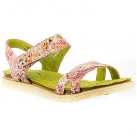 Womens Dorry 10 Rose Floral Slingback Sandals
