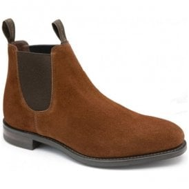 Womens Chatterley Brown Suede Chelsea Boots
