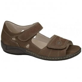 Womens Hilena Denver Biber Double Velcro Sandals 582028 191 046