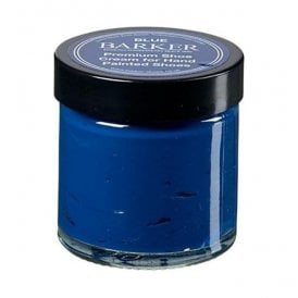 Premium Blue Hand Painted Shoe Stain Cream