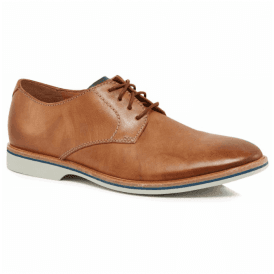Mens Atticus Lace Tan Leather Shoes 26131824