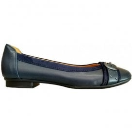 Womens Michelle Ocean/Atlantic Navy Slip On Shoes 94.116.26