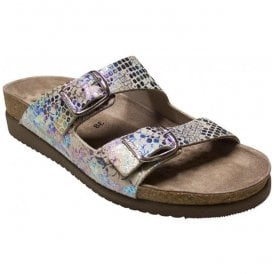 Womens Harmony Queenie Multicoloured Dual Strap Sandals