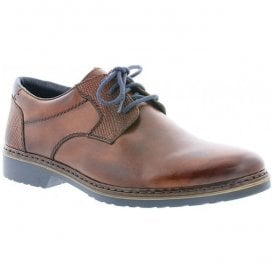 Mens Ramon Brown Lace Up Shoes 16541-25