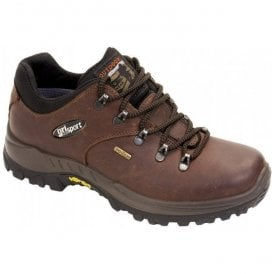 Mens Dartmoor Brown Waterproof Walking Shoes