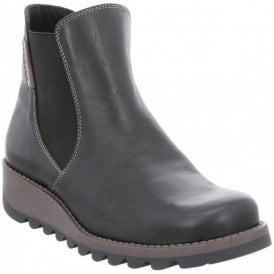 Womens Lina 05 Black Combi Ankle Boots 82605 ML135 101