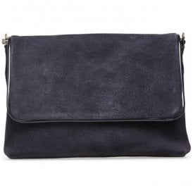 Womens Lolly Midnight Suede Clutch Handbag 2975430