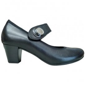 Womens Nola Black Heeled Mary Jane Shoes 95.487.27