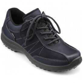 Womens Mist Extra Wide GTX Rich Navy Nubuck/Suede Waterproof Lace Up Shoes