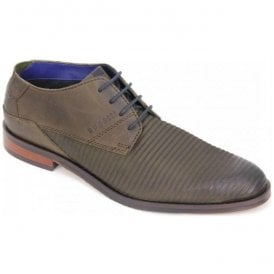 Mens Rainel Evo Dark Green Lace Up Derby Shoes 311-52807-1500-7100
