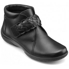Womens Daydream Black Extra Wide Ankle Boots