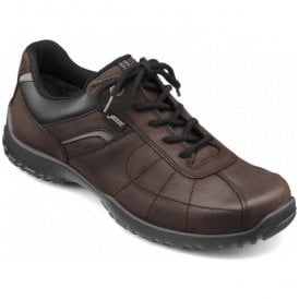 Mens Thor GTX Chocolate Leather Waterproof Lace Up Shoes
