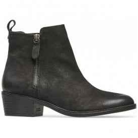 Womens Barlow Black Nubuck Ankle Boots 2964150