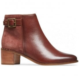Womens Mercer Blood Leather Ankle Boots 2918520
