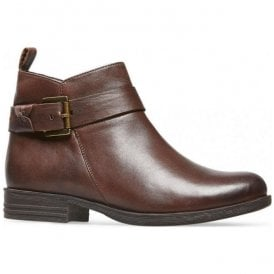 Womens Lynn X Chestnut Leather Ankle Boots 2963320