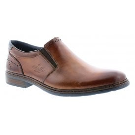 Mens Clermont Brown Formal Slip-On Shoes 11760-25
