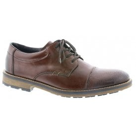 Mens Nobel Brown Leather Lace Up Formal Shoes B5520-25