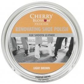 Premium Light Brown Renovating Shoe Polish