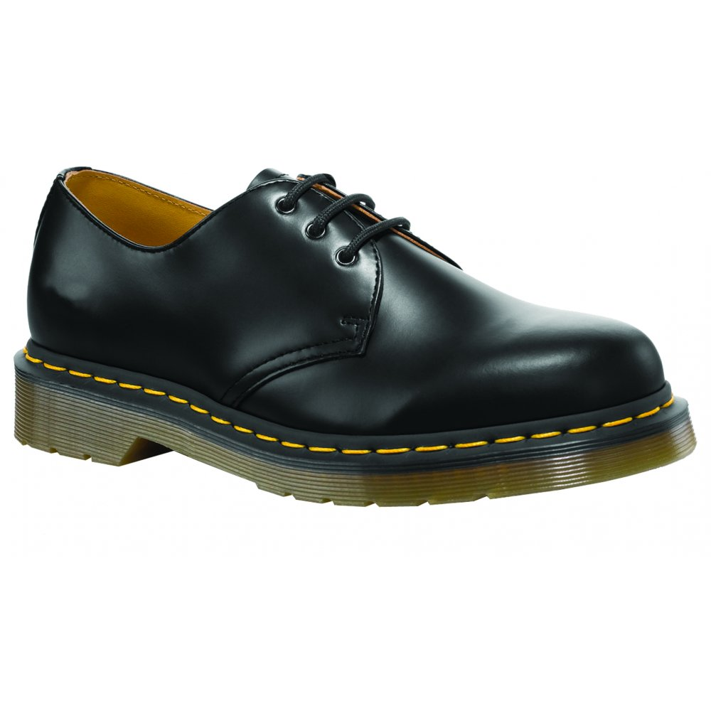 Dr Marten Yellow Black Shoes From