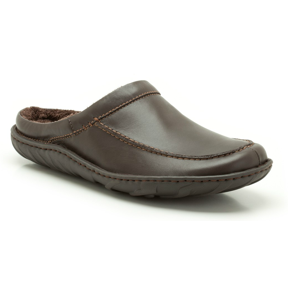 Women's Clarks, Leisa Carly Slip on Clogs ; These mules are made for easy wear and outstanding comfort ; Leather uppers with braid and button accent.