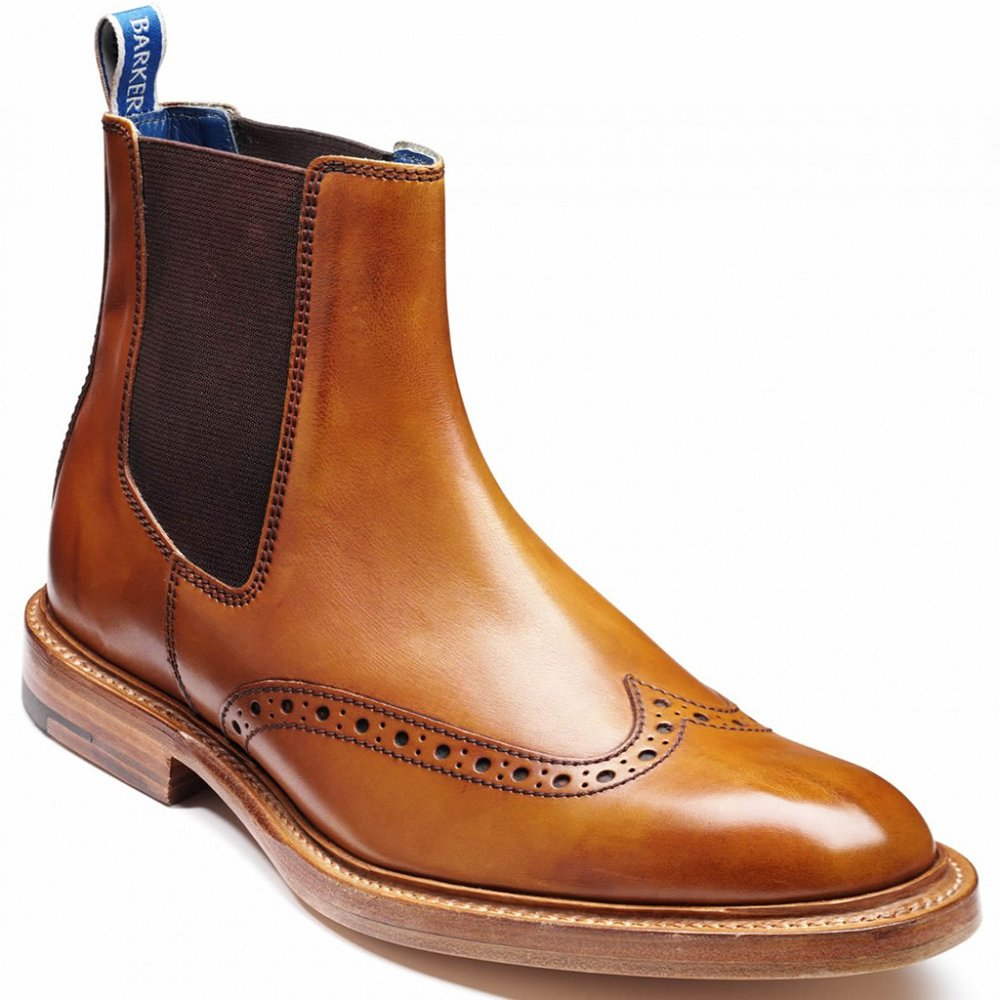 Grenson Fred Burnished-Leather Brogue Boots $ Tricker's Stow Burnished Textured-Leather Brogue Boots $ Tod's Leather Chelsea Boots $ tanahlot.tkms Gardener Whole-Cut Leather Chelsea Boots $ Tod's Nubuck Desert Boots $ Hender Scheme MIP Leather Boots $1,