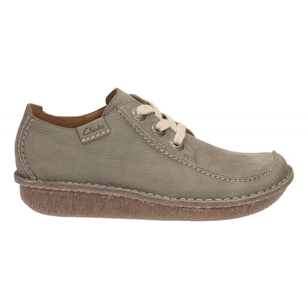 clarks womens nubuck casual shoes